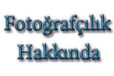 Temel Fotoğrafçılık terimleri.